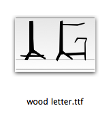 download dreieck rw font