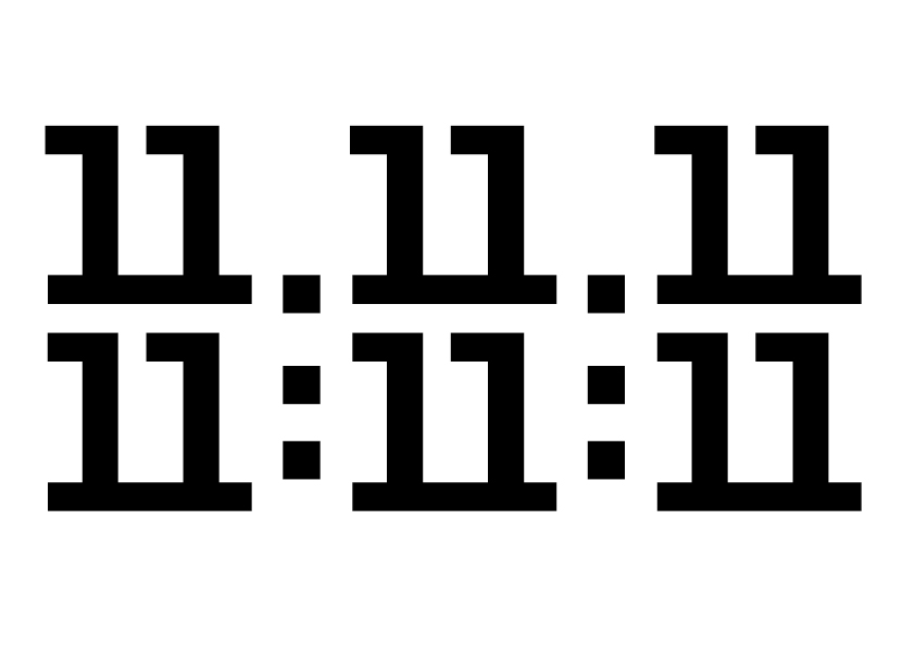 11.11.11. 11:11:11