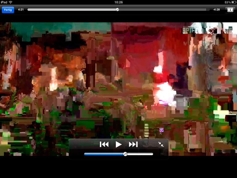 Abstract Expressionism Glitch