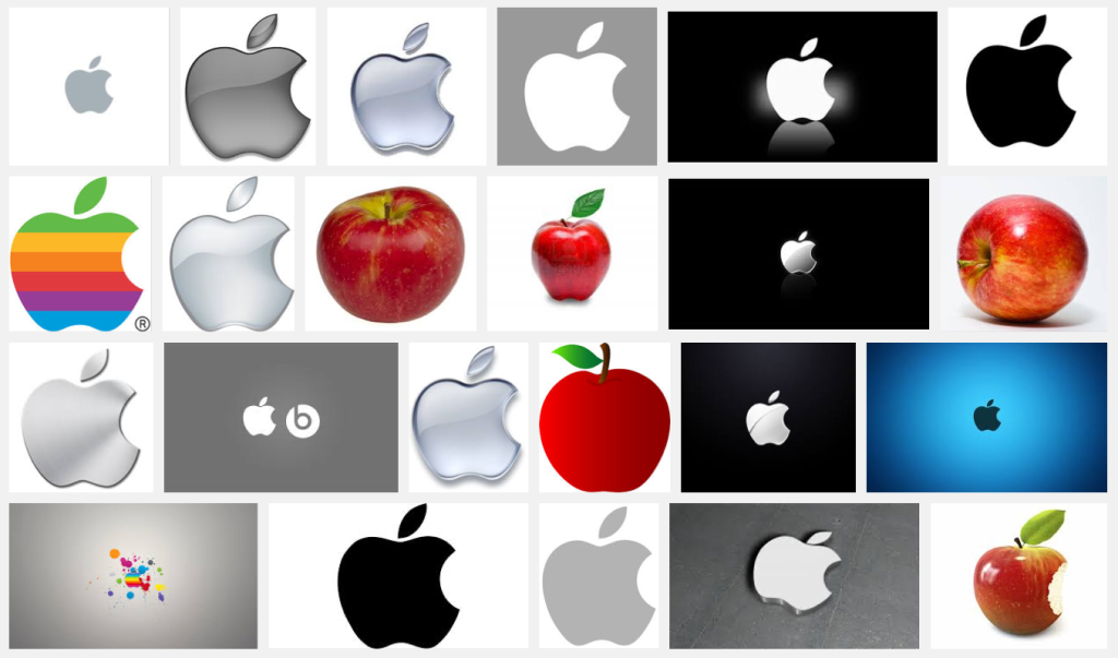 """image search """"apple"""""""