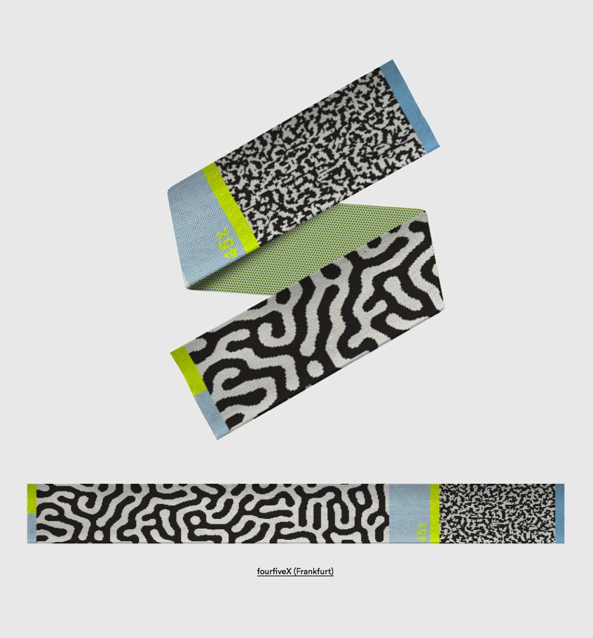 woolllaa fourviceX scarf wwwinter