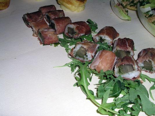 ham sushi