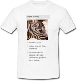 digital printing shirt